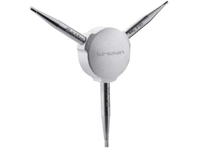 Birzman Y-Grip Allen Key 2/2,5/3mm, silver